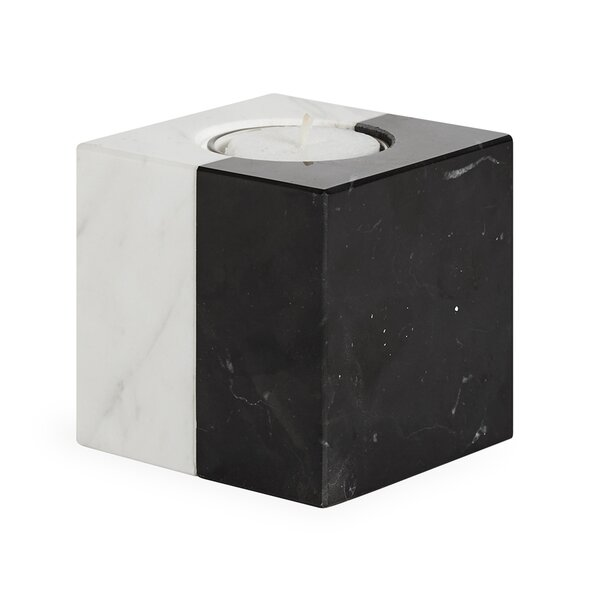 Canaan Marble Votive by Jonathan Adler