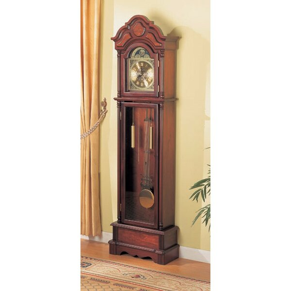 Old Style Wooden 79 Grandfather Clock by Astoria Grand