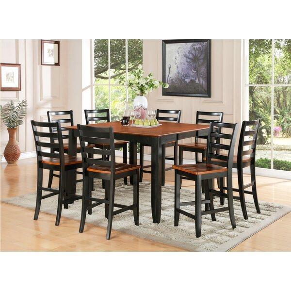 Teressa 9 Piece Counter Height Dining Set