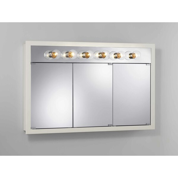 Sturges 48 x 30 Surface Mount Medicine Cabinet with Lighting