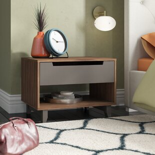 Compare & Buy Aristocles 1 Drawer Nightstand ByMercury Row