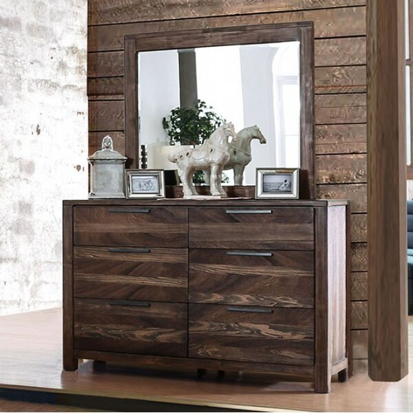 Devia 6 Drawer Double Dresser by Gracie Oaks