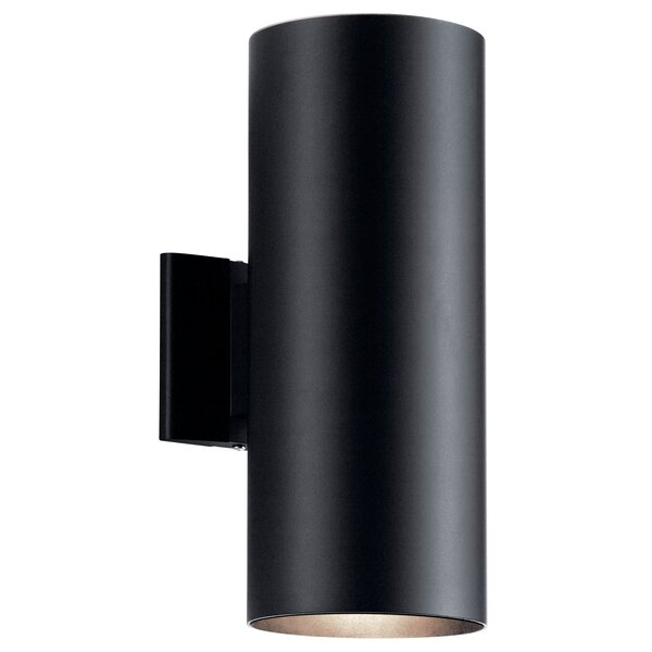 Cans and Bullets 2-Light Outdoor Sconce by Kichler