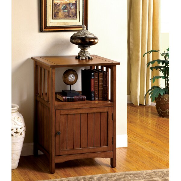 Burris End Table with Storage by Millwood Pines Millwood Pines