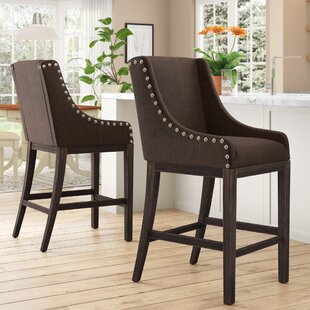 Buy clear Carbondale 25 Bar Stool (Set of 2) by Darby Home Co