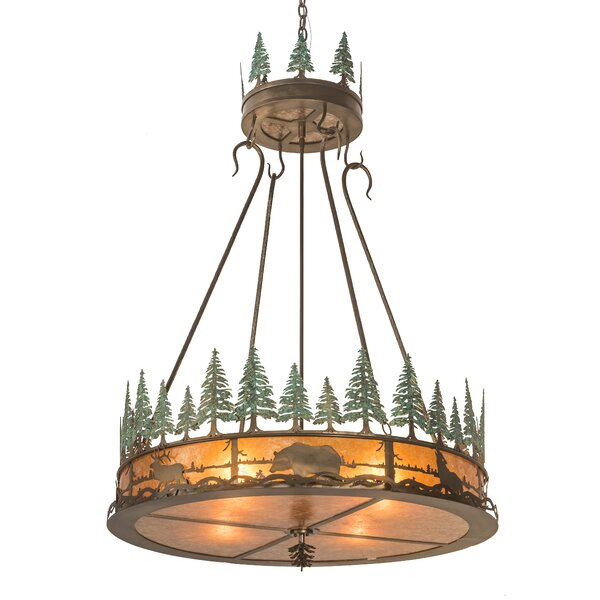 Northwich 4 - Light Unique Drum Chandelier By Loon Peak