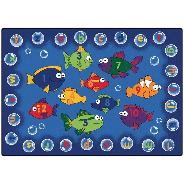 Camila Fishing Kids Area Rug by Zoomie Kids