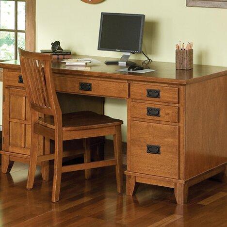 Ferryhill Desk By Three Posts.