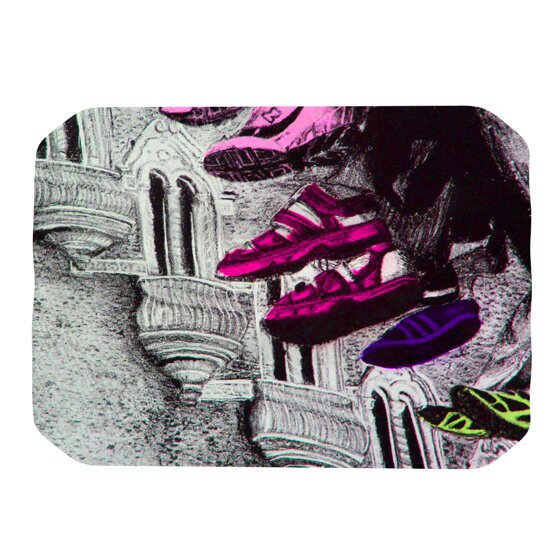 Shoes in SF Placemat by KESS InHouse