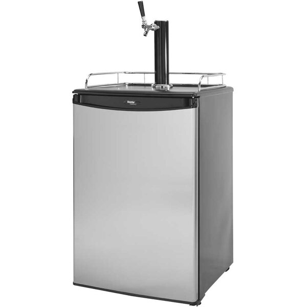 6 cu. ft. Single Tap Kegerator by Cal Flame