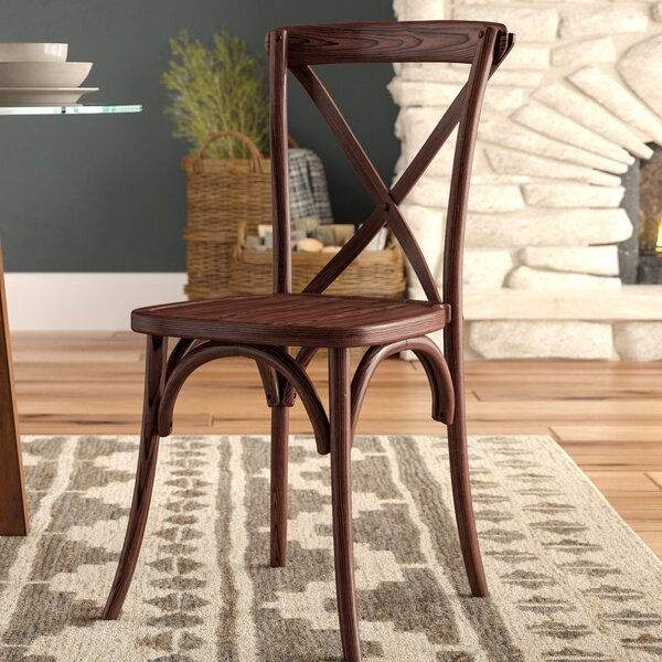 Norma Solid Wood Dining Chair by Mistana