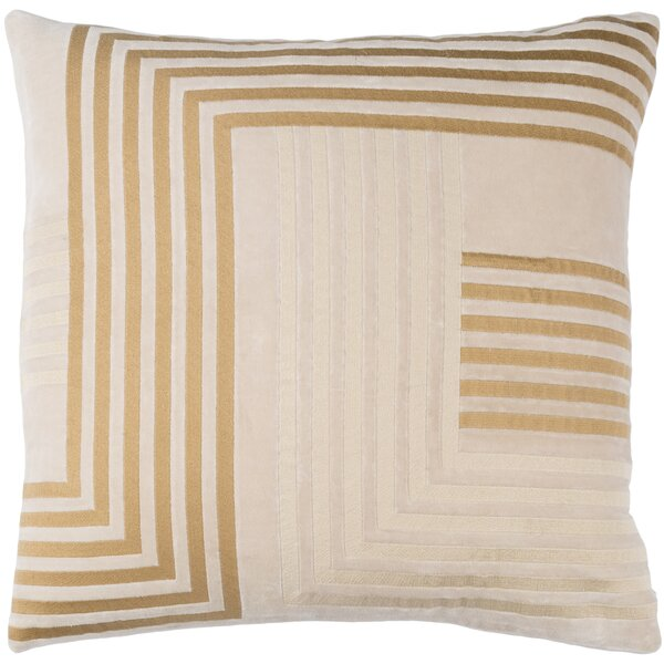 Intermezzo Cotton Pillow Cover by Elle Decor