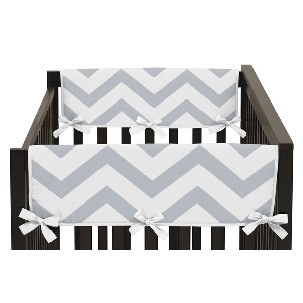 Chevron Side Crib Rail Guard Cover (Set of 2) by Sweet Jojo Designs