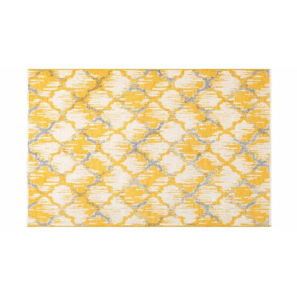 Lorelei Yellow/Gray Area Rug by Corrigan Studio
