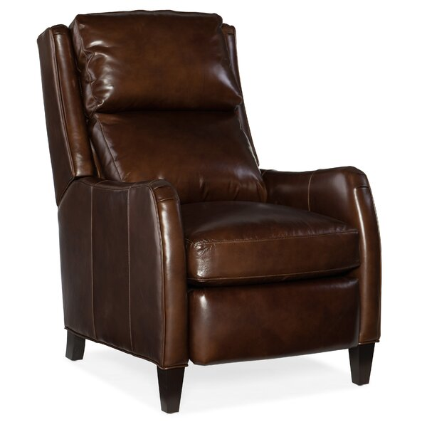 Peyson Leather Power Recliner with Articulating Headrest by Bradington-Young