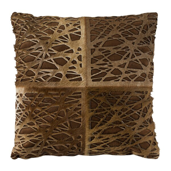 Wozniak Natural Throw Pillow by Brayden Studio