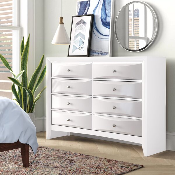 Braymer 8 Drawer Double Dresser by Ebern Designs