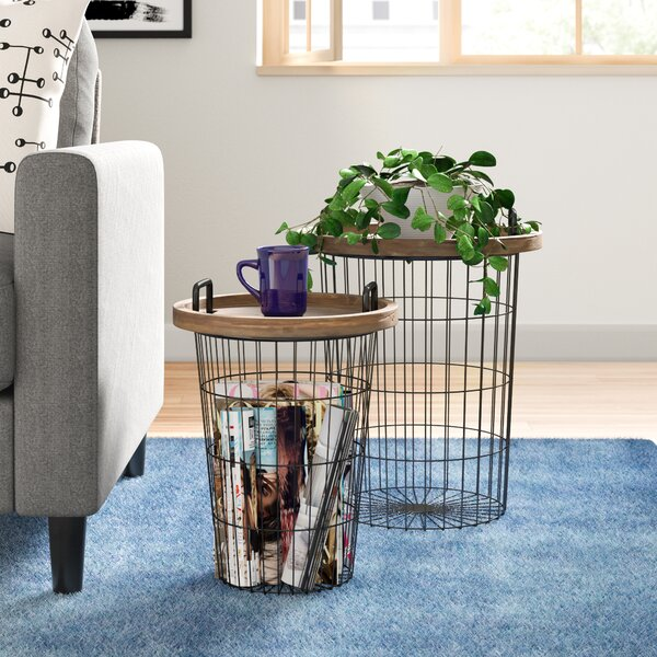 Janay 2 Piece Nesting Tables By Zipcode Design