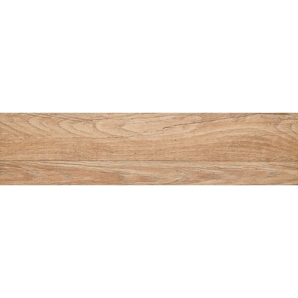 Woodwork 6 x 39 Porcelain Wood Look/Field Tile in Bend by Emser Tile