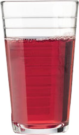 Hoops 10.5 oz. Juice Glass (Set of 4) by Libbey