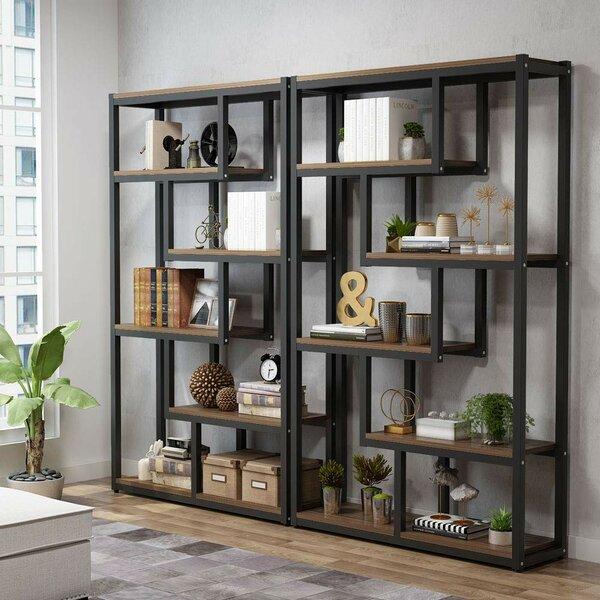 Peltier Geometric Bookcase by Williston Forge