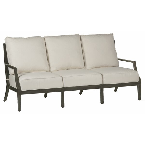 Lattice Patio Sofa with Cushions by Summer Classics