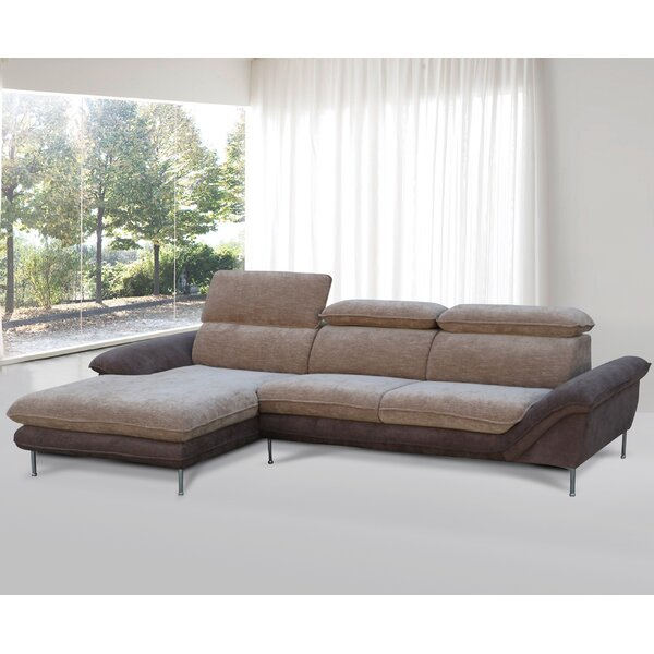 Lynnette Flocking Sectional by Orren Ellis
