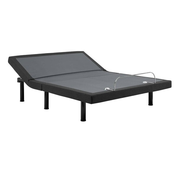 Transform Adjustable Wireless Remote Queen Upholstered Platform Bed by Modway