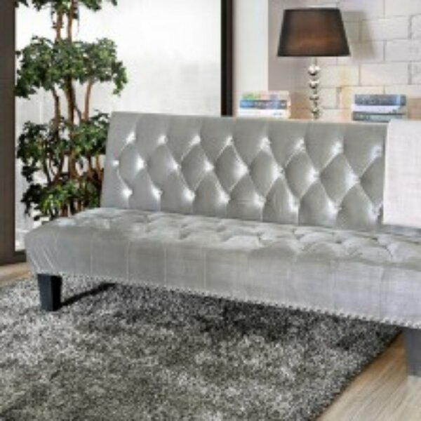 Poche Flanelette Convertible Sofa by House of Hampton