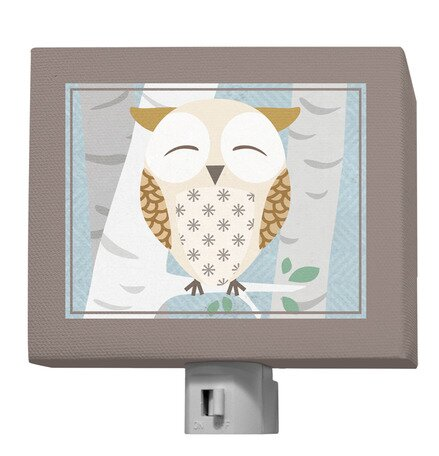 Birchwood Owl Night Light by Oopsy Daisy