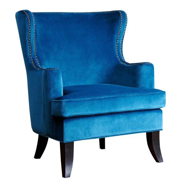 Burnard Fabric  Wingback Chair by Willa Arlo Interiors