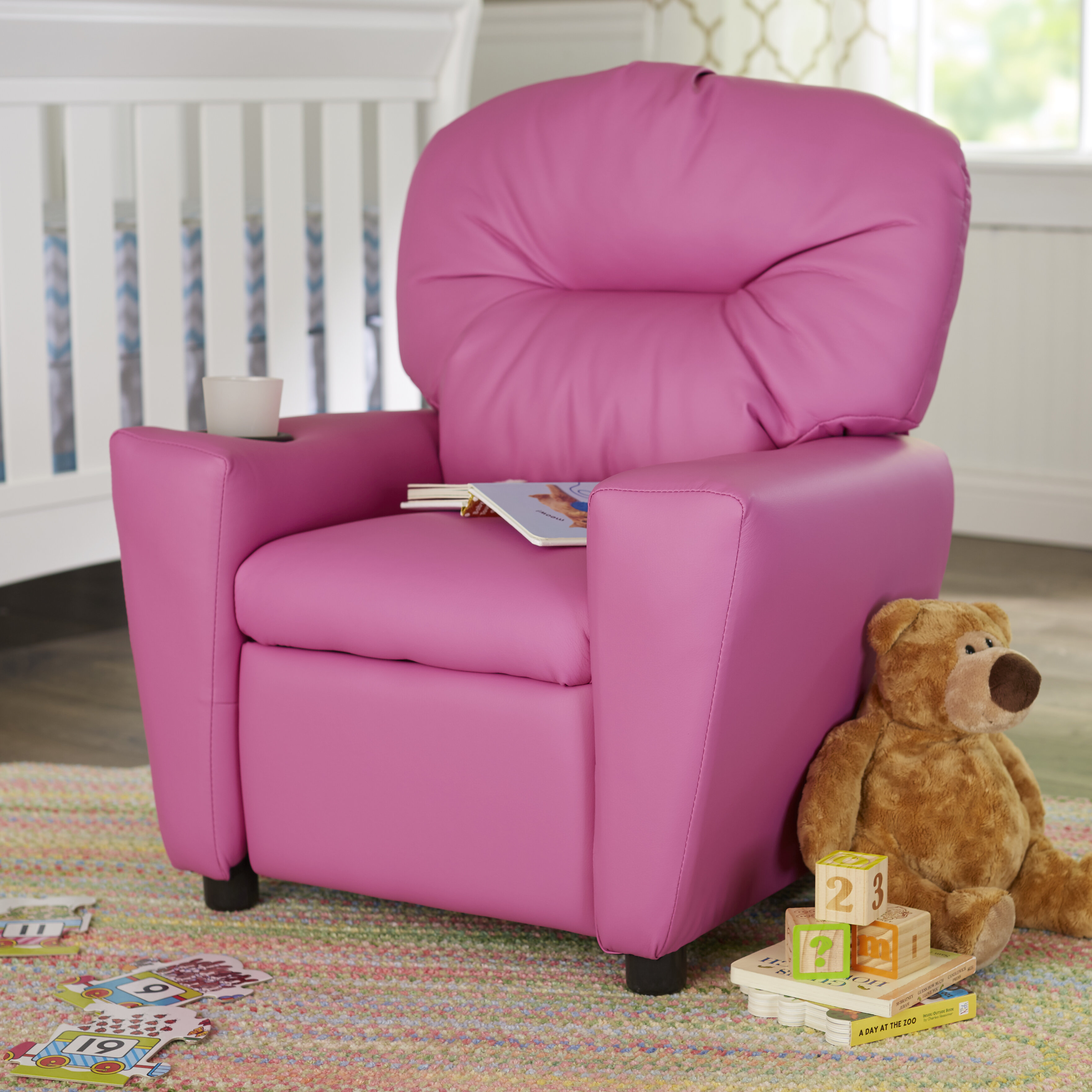 Blevins Kids Chair with Cup Holder