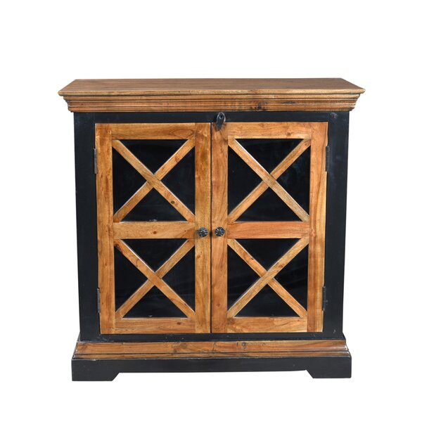 Cullens 2 Door Accent Cabinet by Fleur De Lis Living
