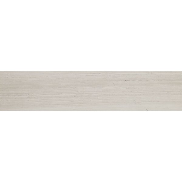 Oxford 8 x 36 Limestone Wood Look Tile in Blavet Blanc by Itona Tile