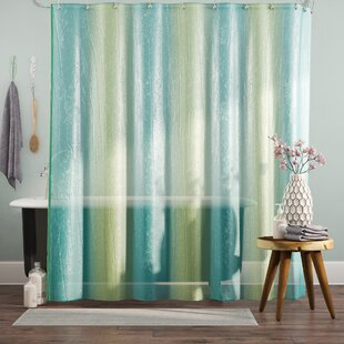 Order Dismuke Striped Shower Curtain By Bungalow Rose