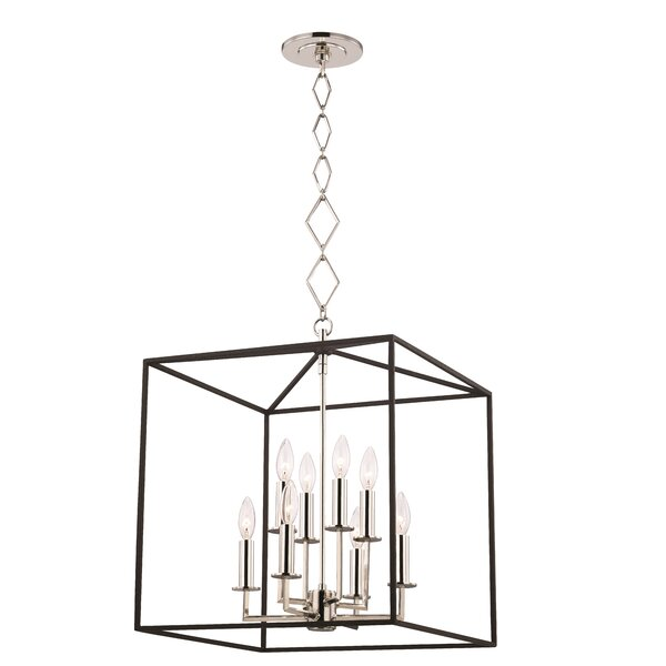 Earlene 8 - Light Lantern Square Chandelier by Ivy Bronx Ivy Bronx