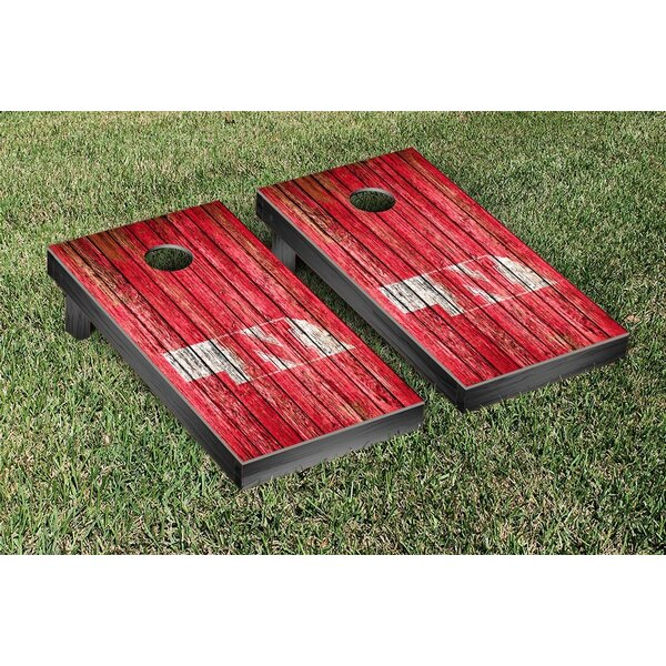 NCAA Weathered Version Corona Cornhole Game Set by Victory Tailgate
