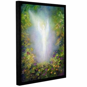 Healing Angel I by Marina Petro Framed Painting Print on Wrapped Canvas by ArtWall