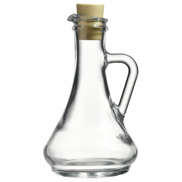 Olivia Oil and Vinegar Glass Cruet (Set of 2) by Linen Depot Direct