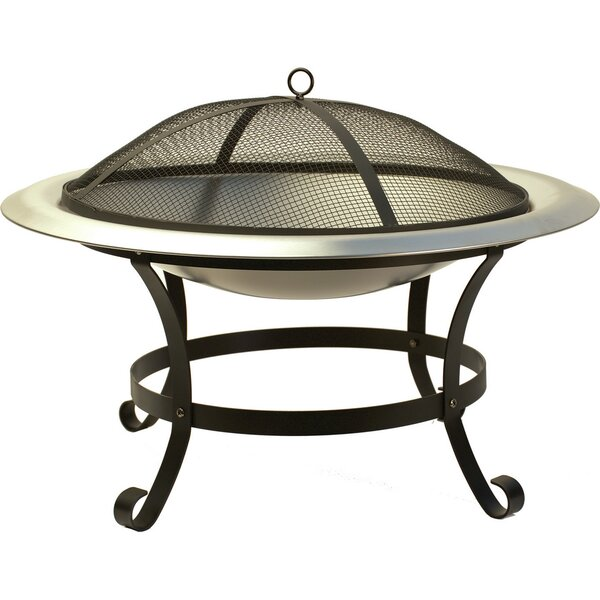 Veranda Steel Wood Burning Fire Pit by World Source Partners