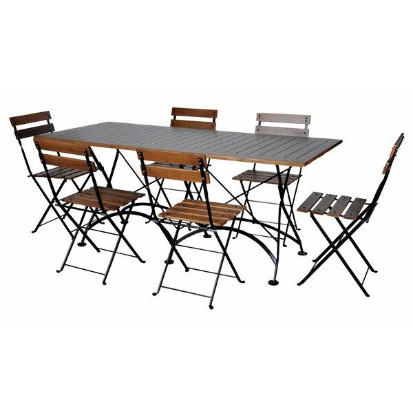 European Café 7 Piece Dining Set by Furniture Designhouse