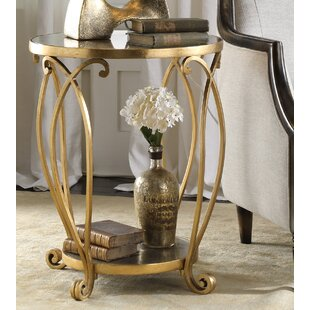 Reviews Katelynn Round End Table By Astoria Grand