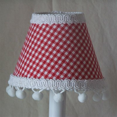 Farm House Gingham Night Light by Silly Bear Lighting