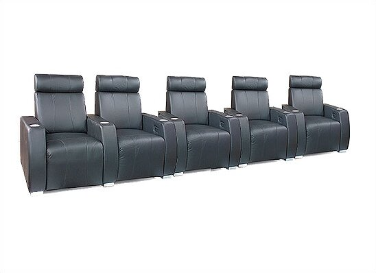 Executive Home Theater Row Seating (Row Of 5) By Bass