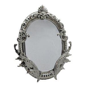 Three Star Im/Ex Inc. Baroque Wall/Table Accent Mirror