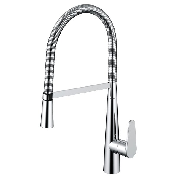 Daweier Pull Out Single Handle Kitchen Faucet by Daweier