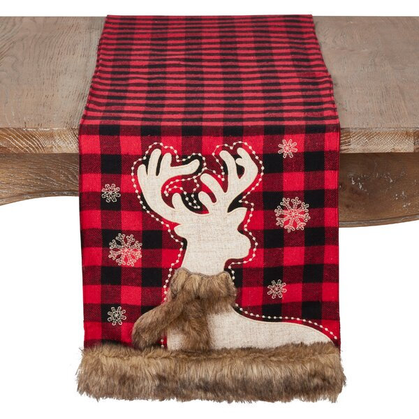 Naveen Plaid Table Runner by The Holiday Aisle