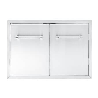 KitchenAid Outdoor Kitchen Drop-In Access Door & Reviews ...
