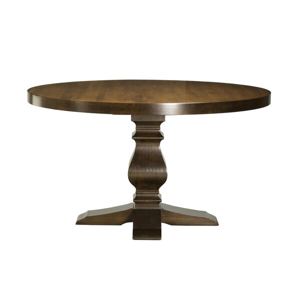 Gaspard Maple Solid Wood Dining Table by Darby Home Co Darby Home Co