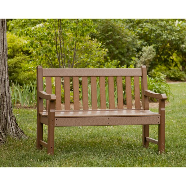 Rockford Plastic Garden Bench by POLYWOOD POLYWOOD®